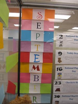Big September Sign