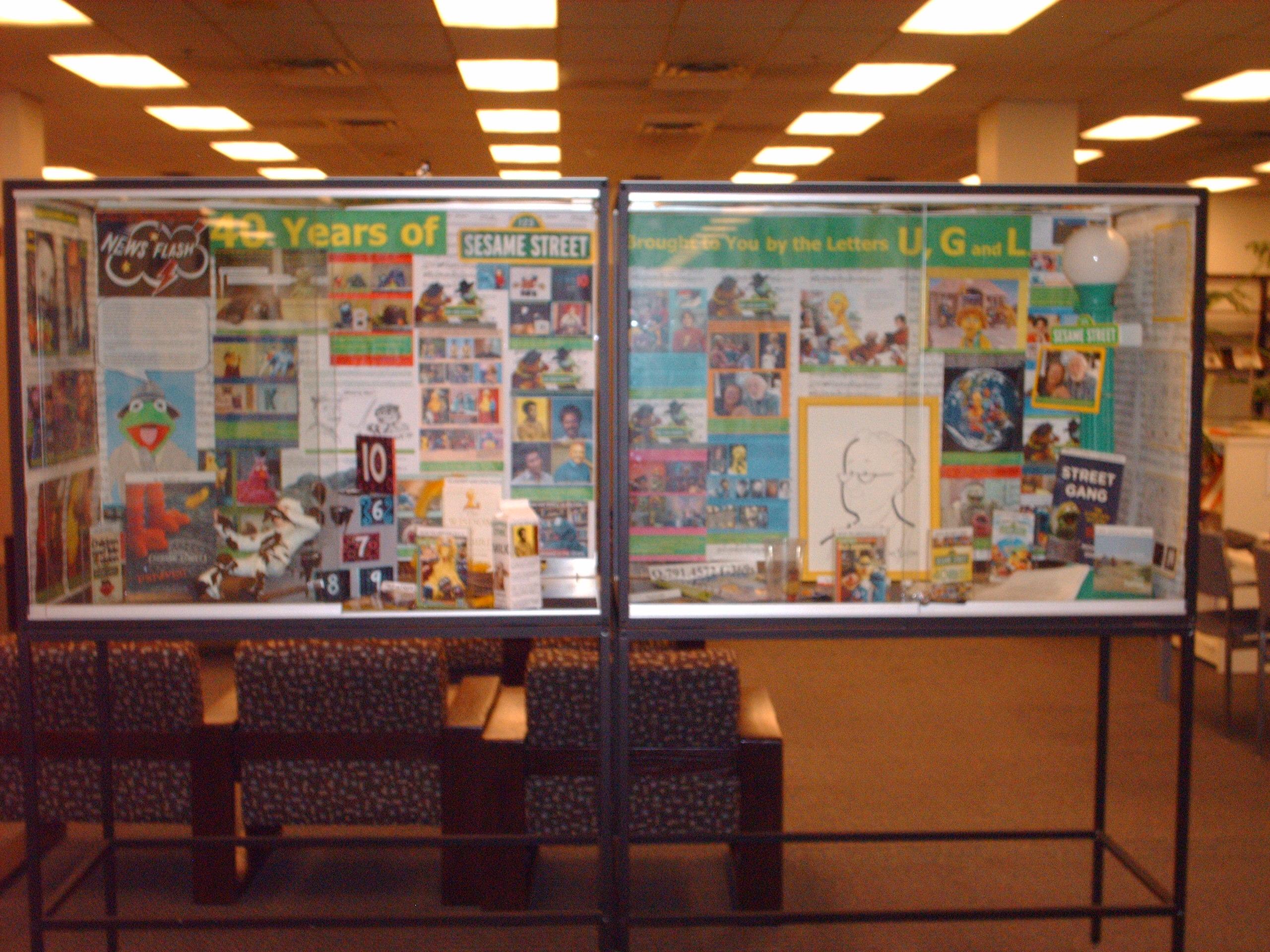 image of sesame street exhibit