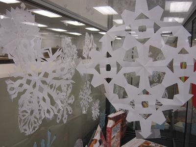 Snowflake Backdrop 1