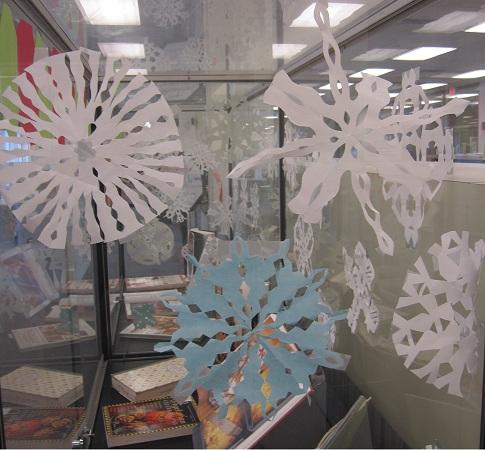 Snowflake Backdrop 2