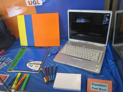 Stationery and Laptop