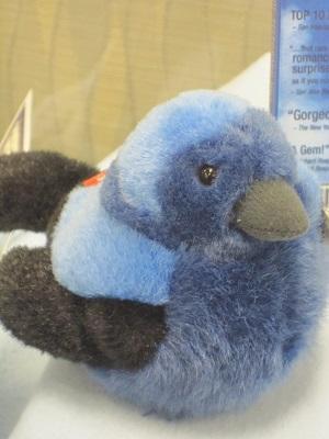 Stuffed Bluebird