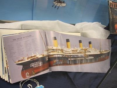Titanic--Page Spread