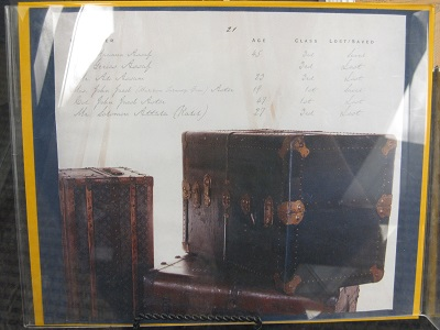 Titanic--Passenger list
