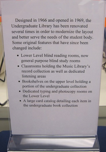 UGL Through the Years--Changes to the UGL--list