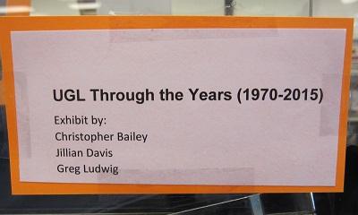 UGL Through the Years--Curator card