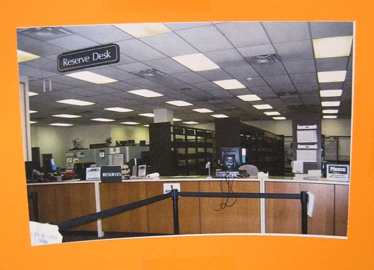 UGL Through the Years--Reserves Desk