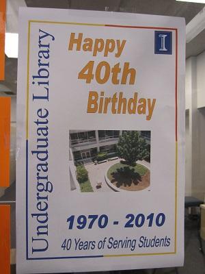UGL Through the Years--UGL's 40th Anniversary--1970-2010