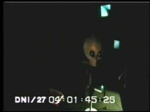 """A man under the name of """"Victor"""" smuggled video footage out of Area 51.        """"Victor""""claims that the footage features a live alien held captive at the base."""