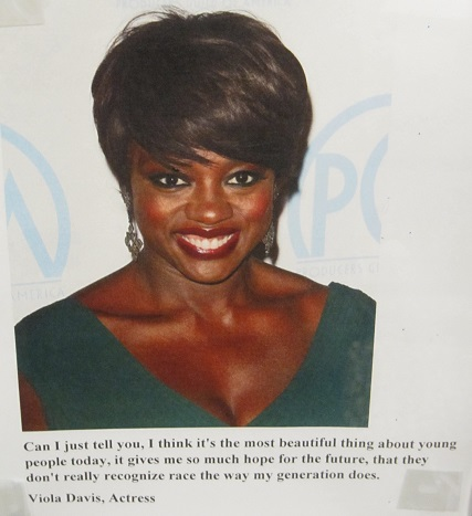 Viola Davis Quote--Young people today