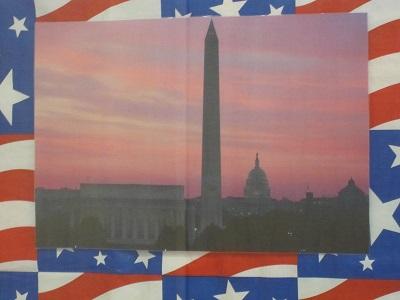Washington D.C. at twilight