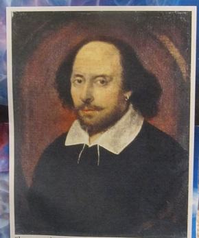 William Shakespeare--Close up