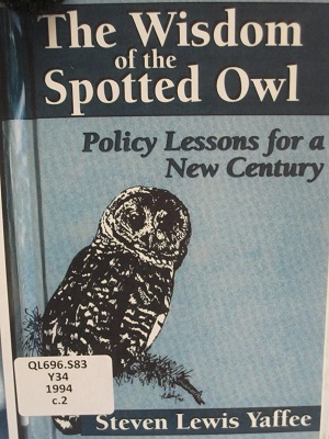 Wisdom of the Spotted Owl