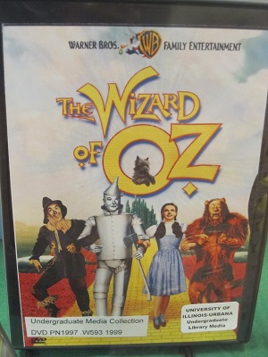 Wizard of Oz--DVD