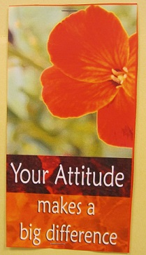 Your Attitude Makes A Big Difference
