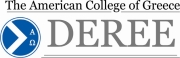 Logo of DEREE - The American College of Greece