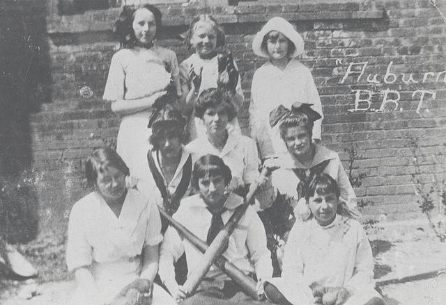 Auburn women's baseball team