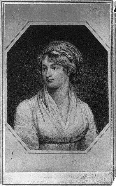 Drawing of Mary Wollstonecraft