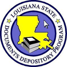 image of the seal of the Louisiana state documents depository program
