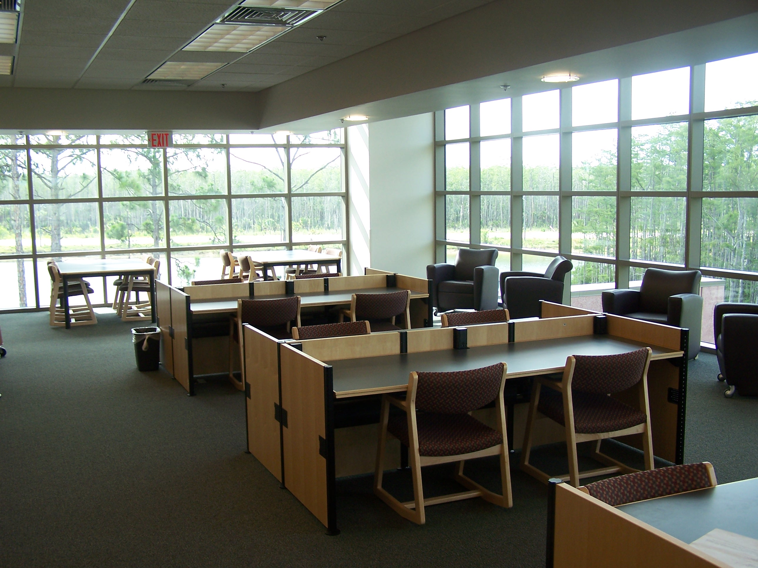 3rd Floor View and Study Tables