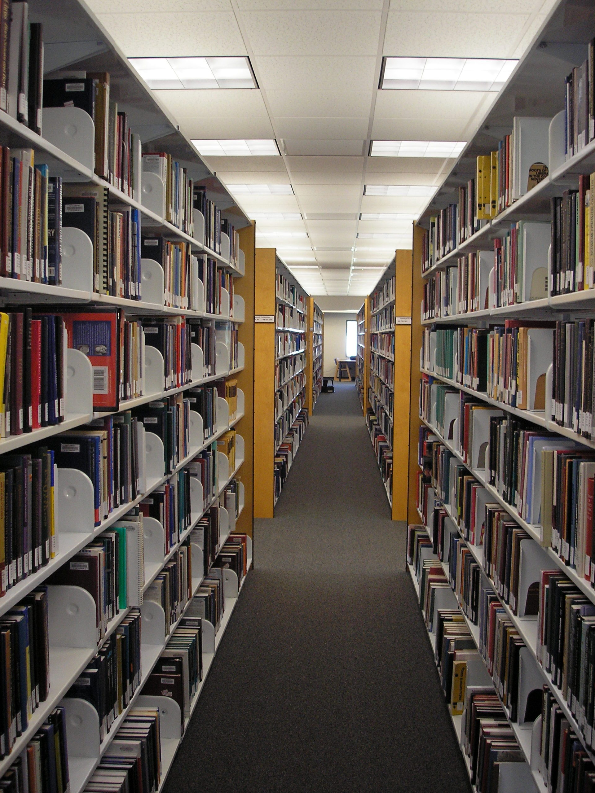 FGCU Library Stacks