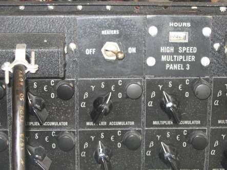 ENIAC control panel