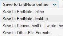 Upload to Endnote Web