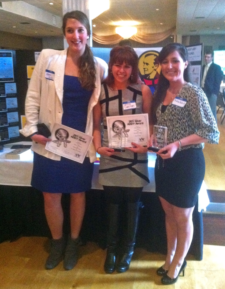 Photograph of student winners