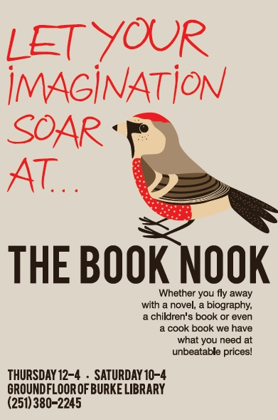 Logo for the Book Nook Ad 2