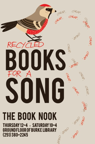Logo for the Book Nook ad 3