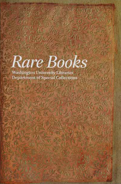 Rare Book Collections at Washington University