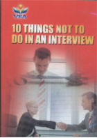 10 Things Not to Do in an Interview dvd cover