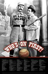 Abbott and Costello: Who's on First? dvd cover