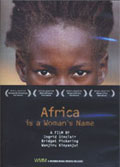 Africa is a Woman's Name dvd cover