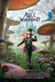 Alice in Wonderland (2010) dvd cover