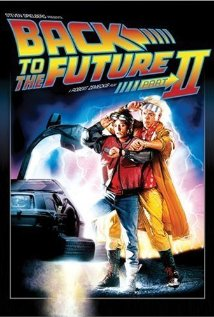 Back to the Future Part II dvd cover