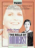 The Belle of Amherst dvd cover