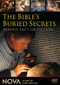 The Bible's Buried Secrets dvd cover