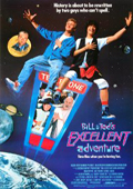 Bill & Ted's Excellent Adventure dvd cover