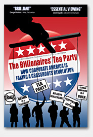 The Billionaire's Tea Party dvd cover
