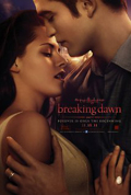 Breaking Dawn, Part 1 dvd cover