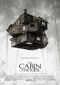 The Cabin in the Woods dvd cover