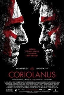 Coriolanus (2011) dvd cover