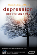 Depression: Out of the Shadows dvd cover