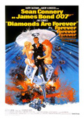 Diamonds Are Forever dvd cover