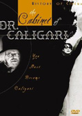 The Cabinet of Dr. Caligari dvd cover