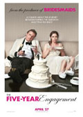 The Five-Year Engagement dvd cover