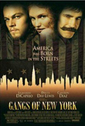 Gangs of New York dvd cover