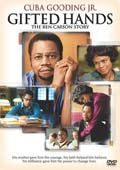 Gifted Hands: The Ben Carson Story dvd cover