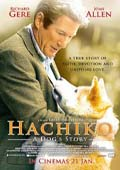 Hachi: A Dog's Tale dvd cover